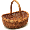 wicker basket - Items -
