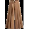 wide leg crop pants - Capri & Cropped -