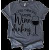 wine tee - T-shirts -