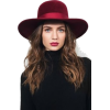 woman in a hat - Tiere -