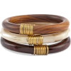 wood bangles - Bransoletka -