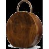 wood circle bag - Bolsas pequenas -