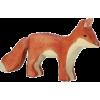 wooden fox holztiger - Objectos -