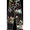 word pants - Capri & Cropped -