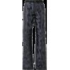 y / project, black, mesh, jeans,  - Jeans -