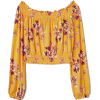 yellow blouse - Camicie (lunghe) -