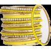 yellow bangles - Pulseras -