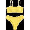 yellow bikini - 泳衣/比基尼 -