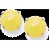 yellow earrings - Uhani -