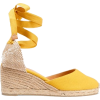 yellow espadrilles - Wedges -