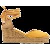 yellow espadrilles - Plataformas -