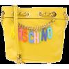 yellow mochino bag - Messenger bags -