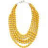 yellow necklace - Collares -
