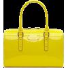 yellow patent leather bag - Hand bag -
