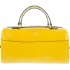 yellow patent leather bag - Carteras -