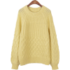 yellow pullover - Puloveri -