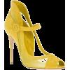 yellow pumps - Zapatos clásicos -