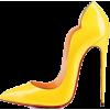yellow shoe - Classic shoes & Pumps -