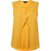 yellow tank - Ärmellose shirts -