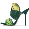 zara leaf sandals - Sandals -