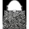 zebra bag - Hand bag -