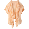 Banner Barrett(バナーバレット) - バナー バレットコットンシフォンレースブラウス - Shirts - ¥12,600  ~ $128.19
