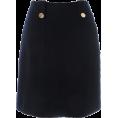 UNITED ARROWS(ユナイテッドアローズ - △UA W/N BKT/TWD S/TT 52 - Skirts - ¥9,000  ~ $91.56
