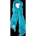 LadyDelish - šal Scarf Blue - Cachecol -