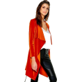 Modalist -  Belted Jacket,Velvet,Fashion - Jacket - coats -