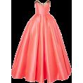 Rocksi -  Reem Acra Lamé-trimmed satin-jacquard g - Dresses - 4,100.00€  ~ $4,773.63