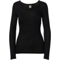 Doozer  - 32 degrees black top - Long sleeves t-shirts -