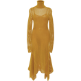 spabrah - A.L.C., Mustard, Fishnet - Dresses -