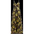 beautifulplace - ADRIANA IGLESIAS  Liz floral-print silk- - sukienki -