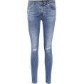 beautifulplace - AG JEANS The Legging Ankle blue skinny j - Jeans -