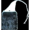 HalfMoonRun - AGNÈS B. velvet purse - Bolsas pequenas -