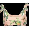 HalfMoonRun - AGUA BY AGUA BENDITA tied shoulder top - Swimsuit -
