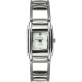 AK Anne Klein - AK Anne Klein Diamond Collection White Dial Women's watch #10/7077WTDI - Watches - $89.99
