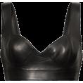 beautifulplace - ALAÏA Leather bustier top - Koszule - krótkie -