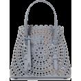 beautifulplace - ALAÏA Mini laser-cut leather tote - Hand bag -