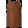 lence59 - ALBERTO BIANI structured vest - Camisas sem manga -