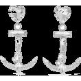 beautifulplace - ALESSANDRA RICH Oversized silver-tone cr - Earrings -