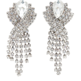 HalfMoonRun - ALESSANDRA RICH crystal earrings - Earrings -
