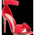 neverorever  - ALEXANDER MCQUEEN Bow Detail Sandals - Sandals -