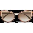 Qiou - ALEXANDER MCQUEEN Cat-eye tortoiseshell - Sunglasses -