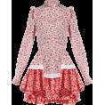 beautifulplace - ALEXANDER MCQUEEN  Floral-print ruffled - Dresses -