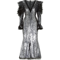 thenycbaglady - ALEXANDER MCQUEEN Ruffled sequined tulle - Dresses -
