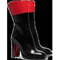 Georgine Dagher - ALEXANDER MCQUEEN black and red hybrid 1 - Boots -