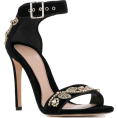 Georgine Dagher - ALEXANDER MCQUEEN crystal embroidered sa - Classic shoes & Pumps -