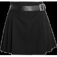 HalfMoonRun - ALEXANDER MCQUEEN wrap mini skirt - Skirts -