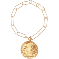 beautifulplace - ALIGHIERI Il Leone 24kt gold-plated brac - Браслеты -
